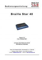Braille Star 40
