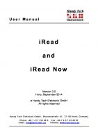 iRead and iRead Now V3.0
