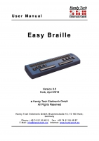 Easy Braille Bluetooth 3.2
